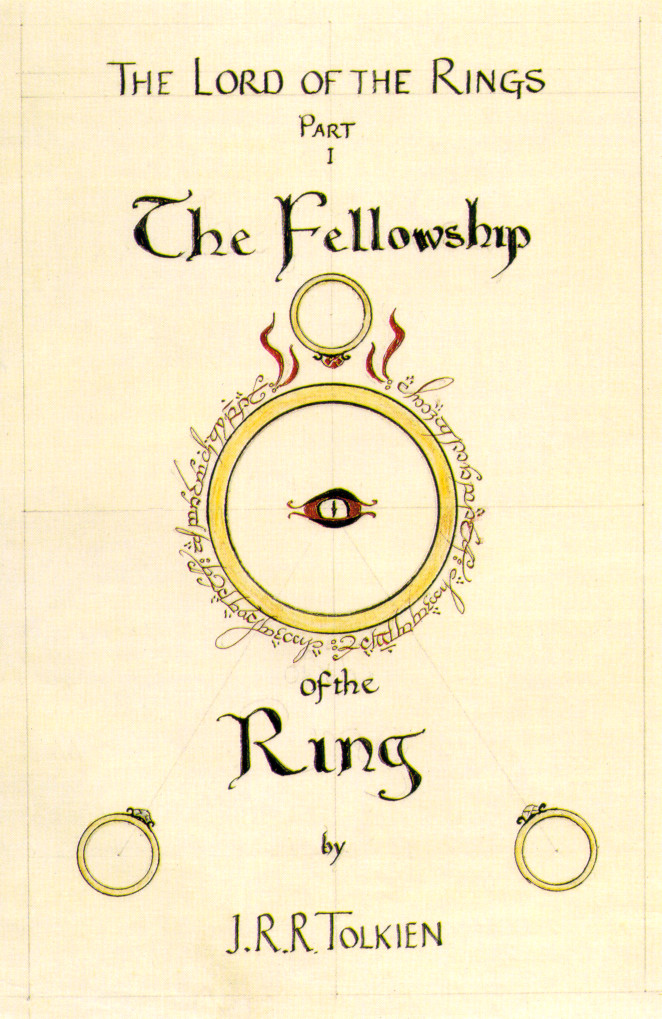 The Fellowship Of The Ring Book Cover by JRR Tolkien_1 - best selling books